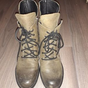 Golo Leather Combat boots